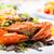 frito · caranguejo · doce · molho · tabela · vermelho - foto stock © hin255