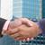 businessman shaking hands stock photo © hin255