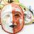 kleurrijk · drama · masker · geïsoleerd · witte · abstract - stockfoto © hin255
