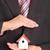 casa · mãos · mulher · projeto · cuidar - foto stock © hin255