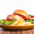 hambúrguer · comida · café · da · manhã · almoço · rápido - foto stock © hin255