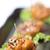 frango · aperitivo · preto · e · branco · gergelim · comida · refeição - foto stock © hin255