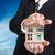 agentschap · dekken · model · huis · hand · man - stockfoto © hin255