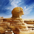 頭 · 大スフィンクス · ギザ · エジプト · 空 · 顔 - ストックフォト © hitdelight