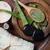массаж · камней · алоэ · влажный · черный · Орхидеи - Сток-фото © hitdelight