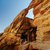 antigo · desfiladeiro · Jordânia · areia · vermelho · pedra - foto stock © hitdelight
