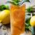 üveg · jegestea · citrom · citrus · menta · izolált - stock fotó © hitdelight