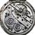 oude · zakhorloge · roestige · versnelling · binnenkant · klok - stockfoto © hitdelight