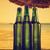 vidro · água · mesa · de · madeira · areia · praia · mar - foto stock © hitdelight