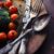 baharatlar · gümüş · plaka · mevsimlik · rustik · siyah - stok fotoğraf © hitdelight