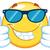 счастливым · желтый · смайлик · мультфильм · талисман · характер - Сток-фото © hittoon