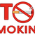 red alphabets stop smoking with red sign cigarette and text stock photo © hittoon