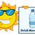 cute · zon · cartoon · mascotte · karakter · zonnebril - stockfoto © hittoon