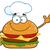 gordura · chef · imagem · engraçado - foto stock © hittoon