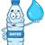 капли · воды · Cartoon · характер · воды · улыбка · счастливым - Сток-фото © hittoon