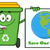 zöld · újrahasznosít · tároló · vektor · szemétláda · kitűnő - stock fotó © hittoon