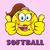 feliz · softball · dobrar · ilustração - foto stock © hittoon