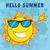 felice · sole · mascotte · carattere · occhiali · da · sole - foto d'archivio © hittoon