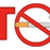 red alphabets stop with smoking sign and text with cigarette stock photo © hittoon