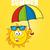 sol · paraguas · ilustración · ola · protección - foto stock © hittoon