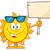 zomer · zon · cartoon · mascotte · karakter - stockfoto © hittoon