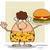 mosolyog · barna · hajú · barlang · nő · rajzfilm · kabala · karakter - stock fotó © hittoon