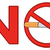 no smoking red sign with cigarette stock photo © hittoon