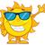 cute · sole · mascotte · carattere · saluto - foto d'archivio © hittoon