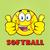 boldog · softball · rajzfilmfigura · dupla · remek · illusztráció - stock fotó © hittoon
