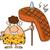 dessinées · cartoon · femme · lance · rétro - photo stock © hittoon