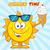 sol · sorvete · feliz · natureza · verão · doce - foto stock © hittoon