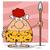洞窟 · 女性 · 漫画のマスコット · 文字 · 良い - ストックフォト © hittoon