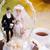 Hochzeitstorte · Braut · Bräutigam · Frau · Party · Paar - stock foto © Hochwander