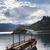湖 · 夏 · スロベニア · ヨーロッパ · 水 · 山 - ストックフォト © hochwander
