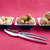 walnuts hazelnuts and peanuts in three bowls stock photo © hochwander