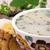 tapas · kiełbasa · jaj · restauracji · oleju · obiedzie - zdjęcia stock © hochwander