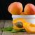 houten · tafel · witte · keramische · kom · organisch · eieren - stockfoto © homydesign