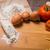 harina · crudo · huevos · espaguetis - foto stock © homydesign