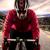 mavi · bisiklet · kask · yalıtılmış · spor · dağ - stok fotoğraf © homydesign