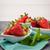 apetitoso · morango · mulher · jovem · alimentação · menina - foto stock © homydesign