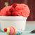 vermelho · morango · textura · fresco · macro · tiro - foto stock © homydesign