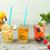 vers · water · citroen · oranje - stockfoto © homydesign