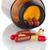 赤 · 錠剤 · ピル · ボトル · 白 · 幸せ - ストックフォト © homydesign