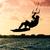 シルエット · 飛行 · 水 · 日没 · 空 - ストックフォト © homydesign