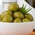 groene · olijven · keramische · kom · oude · tabel - stockfoto © homydesign