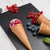meyve · dondurma · koni · kırmızı · meyve · siyah · gıda - stok fotoğraf © homydesign