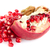 quebrado · romã · fruto · branco · comida · vermelho - foto stock © homydesign