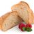 geïsoleerd · croissant · frambozen · voedsel · cake · witte - stockfoto © homydesign