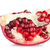half pomegranate fruit stock photo © homydesign