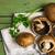champignons · cuisson · bord · prêt · cuit · sauvage - photo stock © homydesign